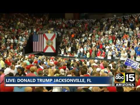 FULL EVENT: Donald Trump rally in Jacksonville, FL