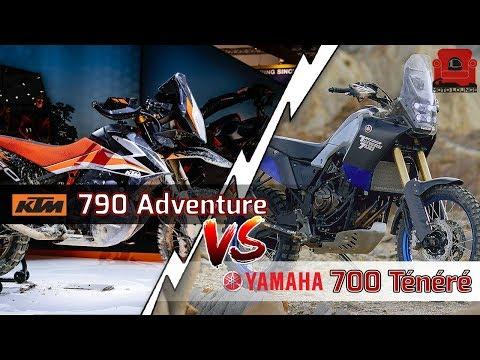 Nuove rivalità all&#;Eicma : Ktm  Adventure vs Yamaha Ténéré