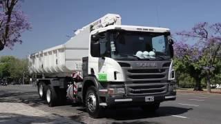 Scania P250 recolector - Informe - Matías Antico - TN Autos