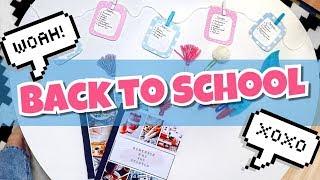 DIY: BACK TO SCHOOL!