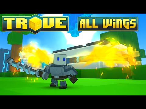 Trove ✪ ALL WINGS (Including Badges) - December 2015