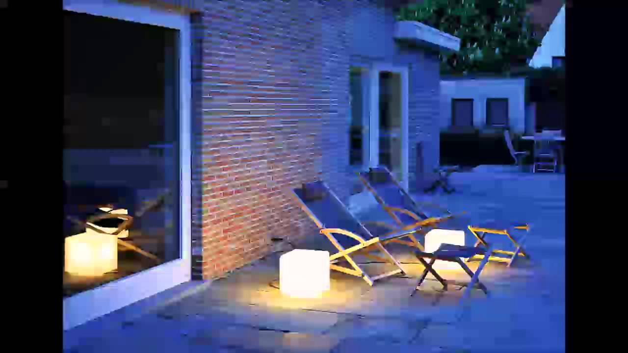 Come arredare e illuminare il giardino con luci LED  YouTube