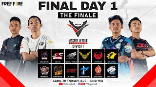 [2021] Free Fire Master League Season III Divisi 1 - Final Day 1