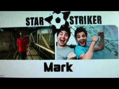Faryl in CBBC Star Striker 2010 Part 1 Intro.