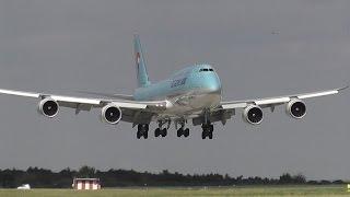 KOREAN AIR Boeing B747-8i inaugural