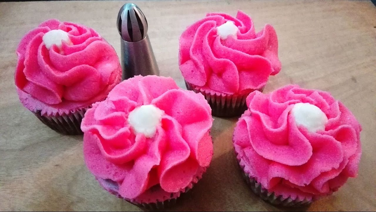 How To Use Cake Decorating Tips For Cupcakes