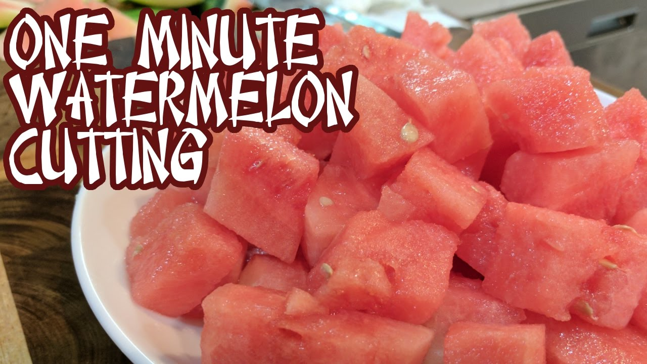Download Cutting A Whole Watermelon in ONE MINUTE Like A PRO
