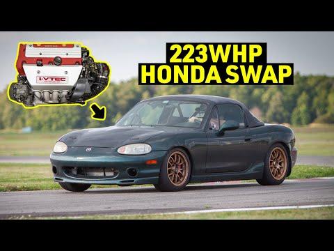 Honda K-Swap Miata Review - The Best Engine Swap for the Miata?