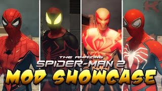Amazing Spider-Man 2 MOD SHOWCASE (Homecoming, Unlimited, All New 2099, Insomniac) [HD 1080P 60FPS]