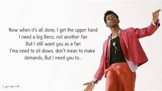 Lil Nas X - Panini (Lyrics / Lyric)