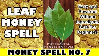 Download Attract money by bay leaf most powerful spell for money really work quickly - Law of Attraction Mp3