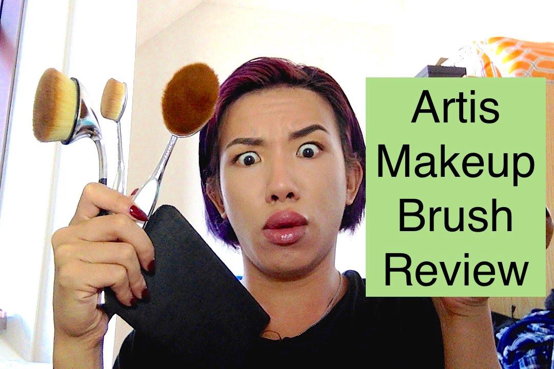 Artis makeup brush review comparison fluenta vs elite for Brush craft vs artis