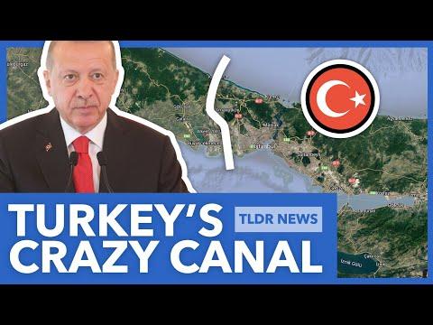 Turkey's $15 Billion Istanbul Canal Explained - TLDR News