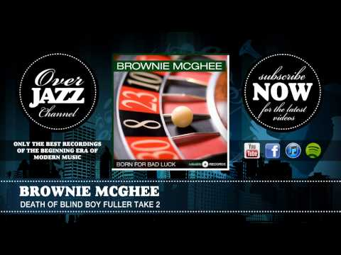 Brownie McGhee - Death Of Blind Boy Fuller Take 2 (1941)