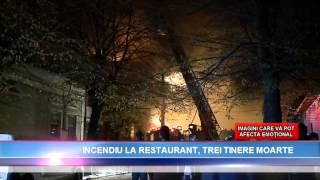 """Incendiu devastator la restaurantul """"Beirut"""" și clubul """"Legendary Pub"""" din Constanța"""