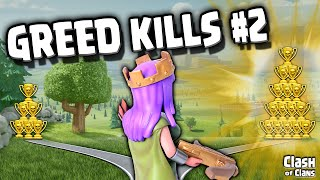 "Clash of Clans ""GREED KILLS!"" Episode 2 ♦ Don"