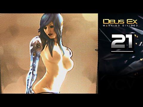 DEUS EX: Mankind Divided Gameplay Walkthrough Part 21 · RED LIGHT DISTRICT (Red Queen)