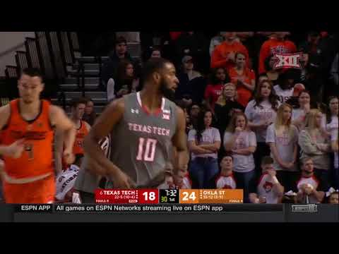 Texas Tech vs Oklahoma State Men