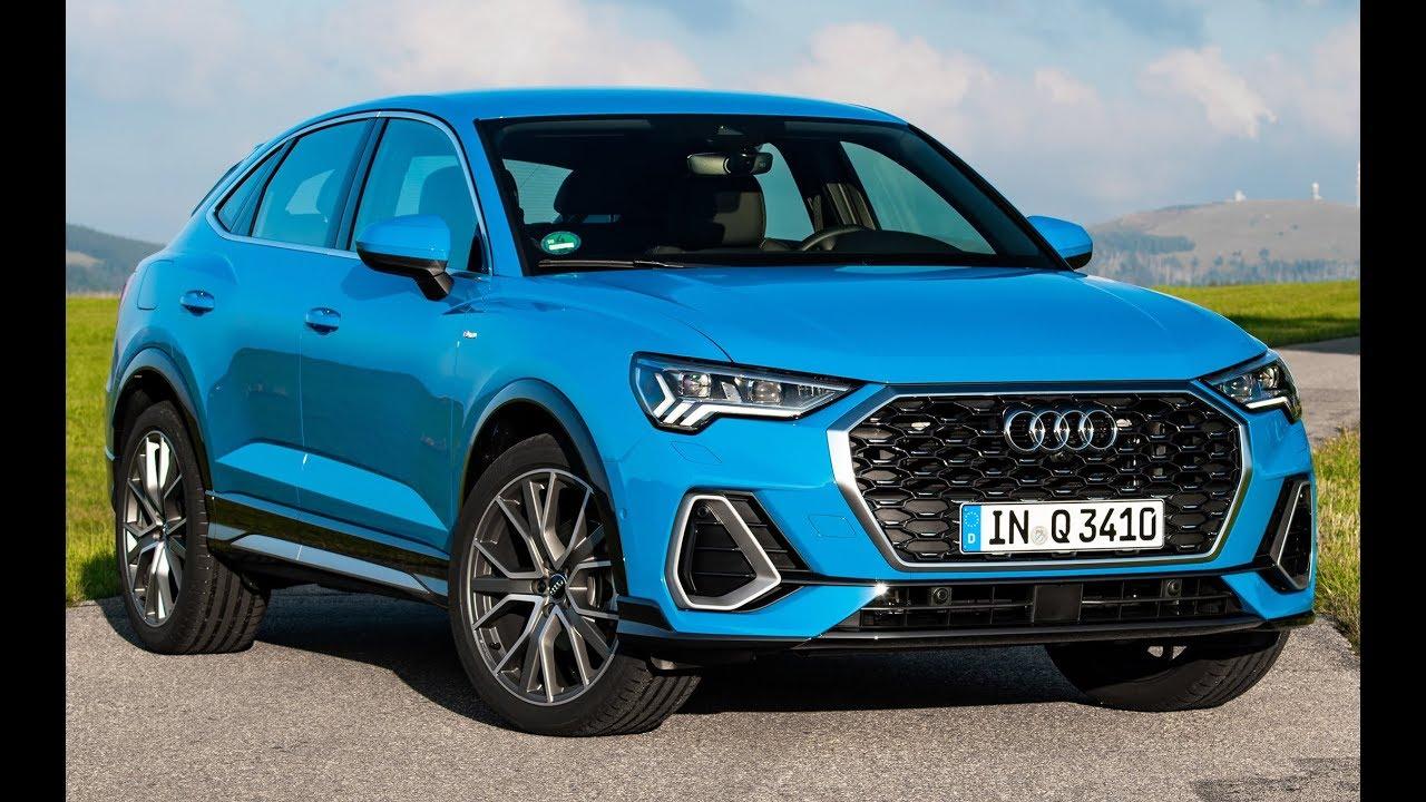 2020 audi q3 sportback turbo blue - coupe suv