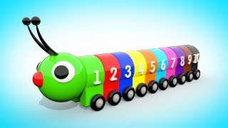 Download Мультик для малышей - УЧИМ ЦВЕТА И ЦИФРЫ Цветная Гусеница | Учимся считать от 1 до 10  Волшебство ТВ Mp3 and Videos