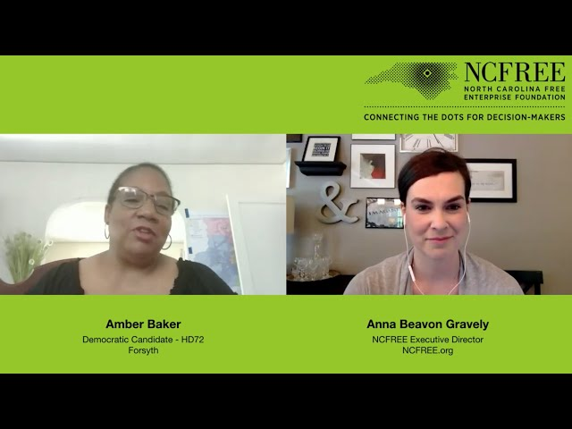 NCFREE Candidate Interview – Amber Baker, HD72