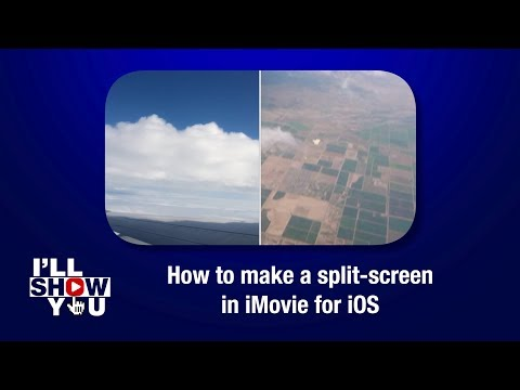 How To Make A Split-screen In IMovie For IOS