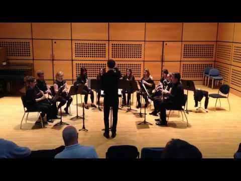Blowsoc Clarinet Ensemble: Sarabande and Allegro