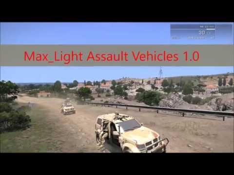 Мод внедорожника Max Light Assault Vehicles