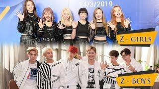 Hai nhóm nhạc đa quốc tịch Z-Boys và Z-Girls: tự tin không dính bê bối như các thần tượng K-pop khác