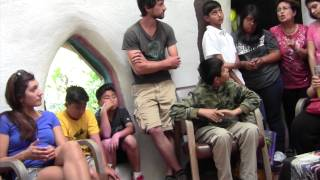 Palomares Junior Youth Spiritual Empowerment Club visits Pomona College Organic Garden on May 5, 201