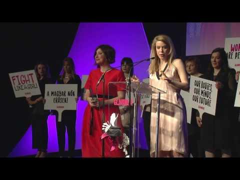 GLAMOUR Women of the Year 2017 - Az év hősnői: Gát Anna és Réz Anna beszéde