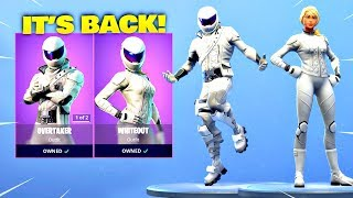 OVERTAKER SKIN & WHITEOUT SKIN IST ZURÜCK! Fortnite ITEM SHOP [4. April 2019] | Fortnite Battle Royale