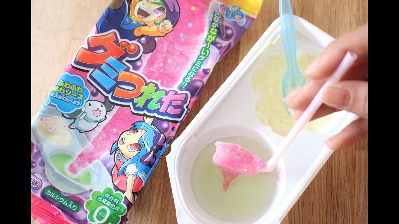 diy kracie japanese candy kit gumi tsureta youtube. Black Bedroom Furniture Sets. Home Design Ideas