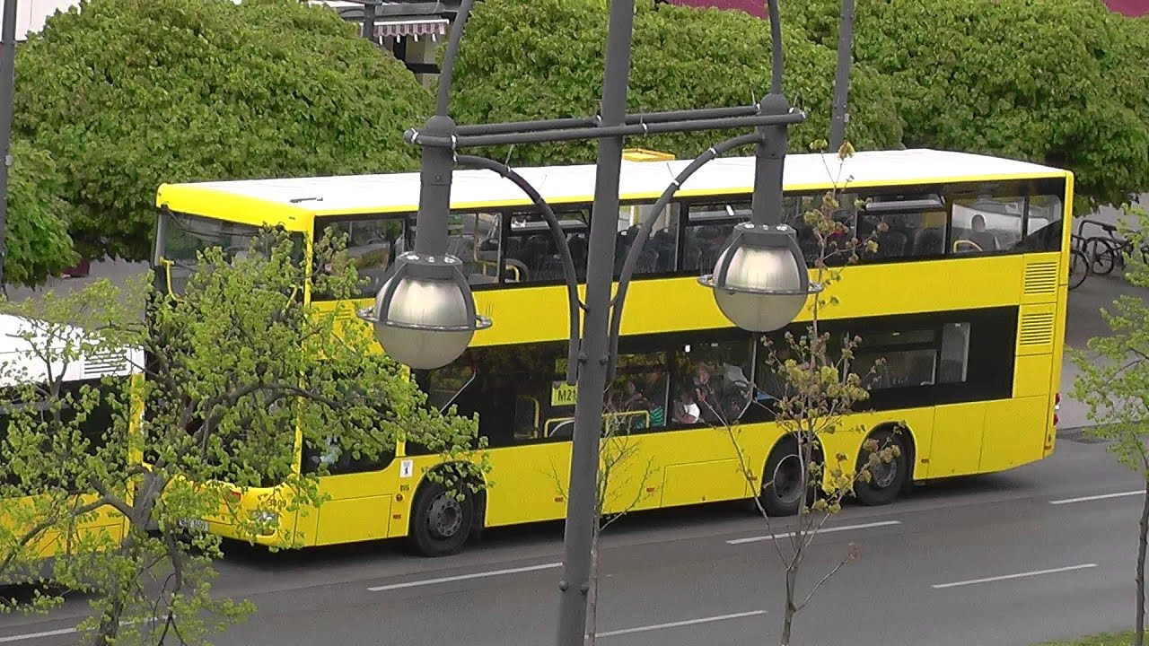 kurzes video vom bvg bus m21 3409 bis bahnhof jungernheide am kurt schumacher platz berlin. Black Bedroom Furniture Sets. Home Design Ideas