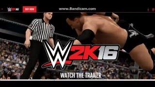 WWE 2K16 pc official tralier!!