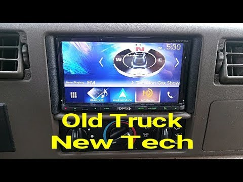 Kenwood DDX9703S In A 2002 Ford F350- New Tech For An Old Truck