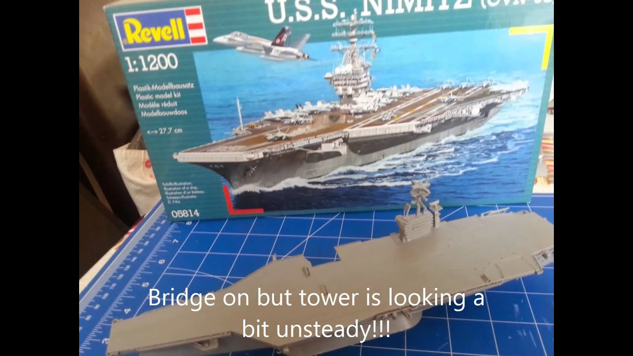 Uss Nimitz 1 500 Scale With Carrier Decals