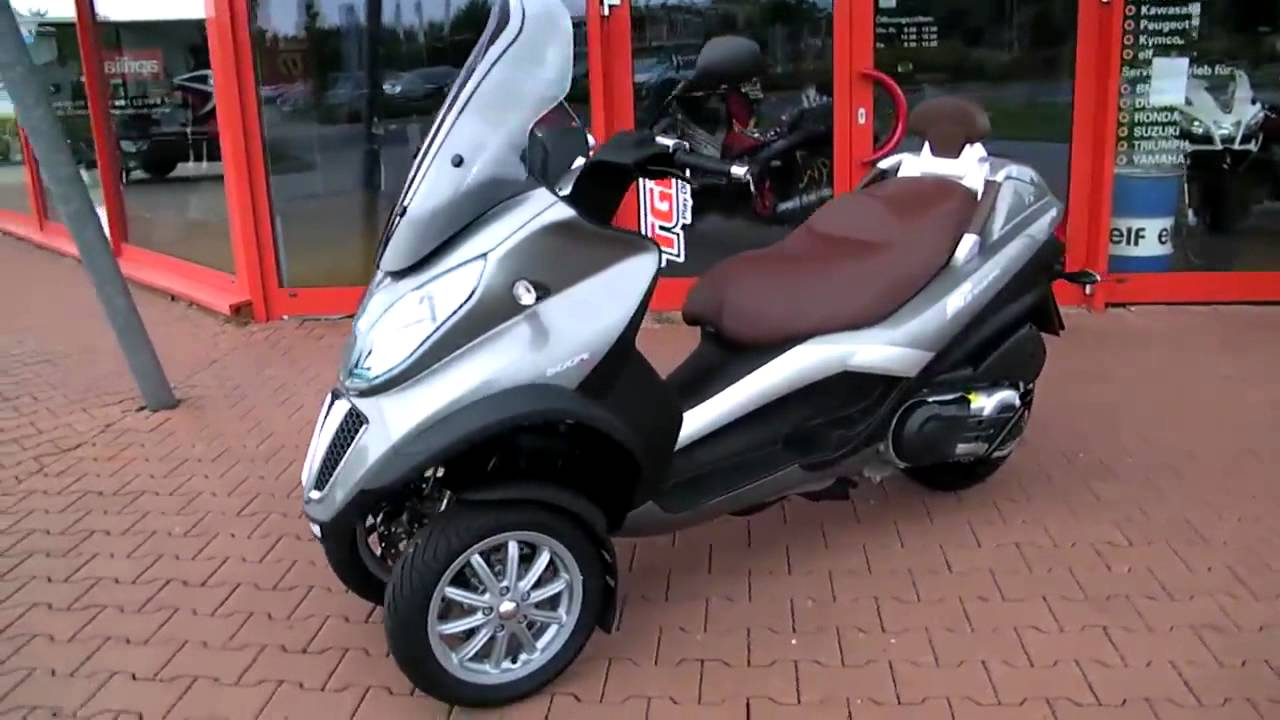 piaggio mp3 500 lt business-11 roller/scooter top-gebraucht - youtube