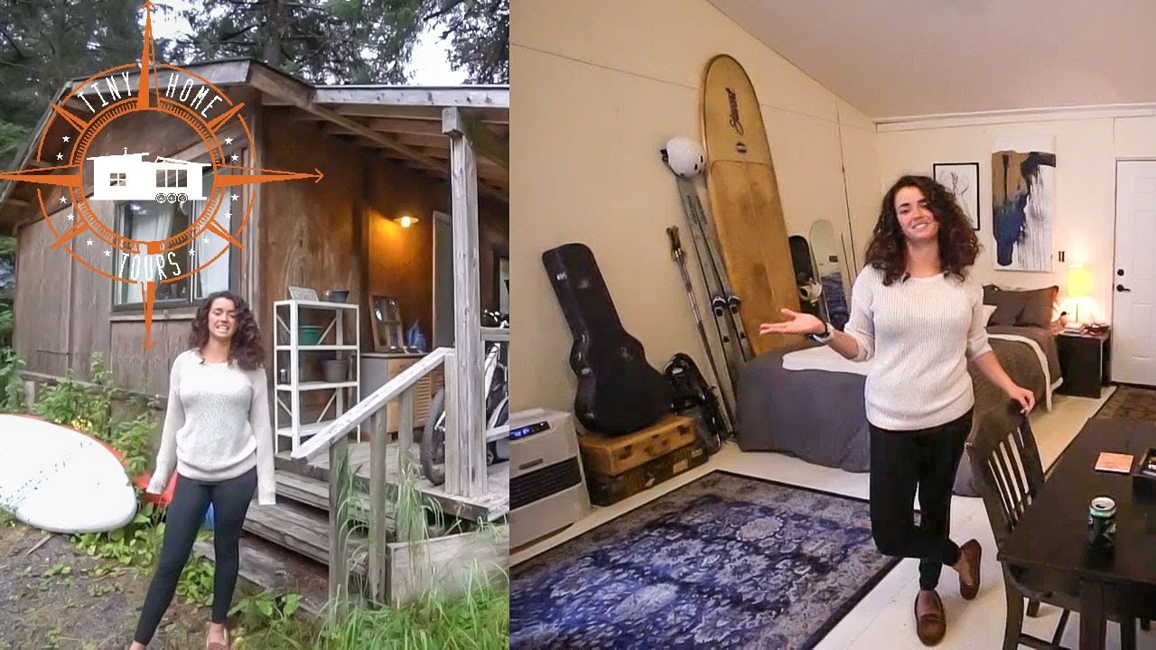 She Transformed An Alaska Dry Cabin Into Gorgeous Tiny