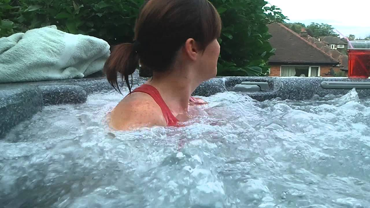 hot tub jet masturbation