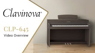 the CLP-645 Yamaha Clavinova - What You Need to Know 2020