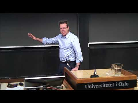 Abel Prize Lecture in honour of Louis Nirenberg  / Tristan Rivière, Oslo - 15 May 2015