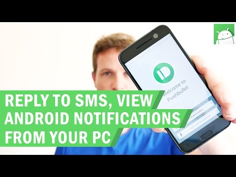 How to view Android notifications and sent SMS from your PC