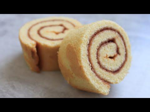 gâteau-roulé-à-la-fraise