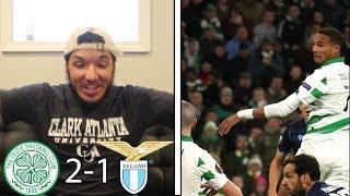 Ryan christie motm! lazio fans punished for nazi salute!    celtic 2-1 reaction