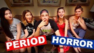 PERIOD HORROR STORIES ft Nina and Randa, Stella Rae, Sonia Elsie