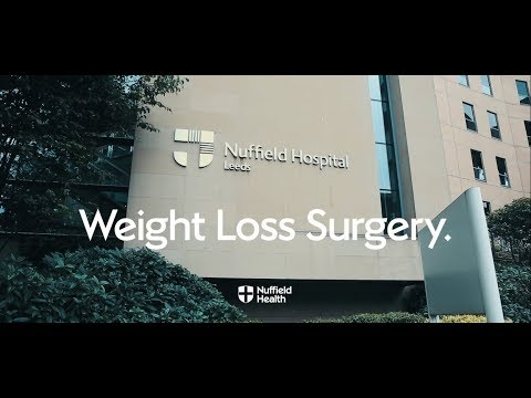 Weight loss (bariatric) Surgery at Nuffield Health Leeds Hospital