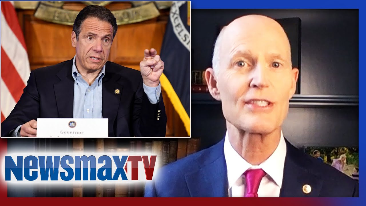 Rick Scott calls out Andrew Cuomo, state bailouts