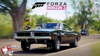 #Forza Horizon 3 #Dodge Charger R/T 1969 GamePlay!