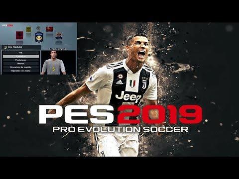 PS2 | Modos De Juego Del PES 19  [ Liga Master  -Copas - Ligas ] + Narración Mariano Closs By CRYMAX